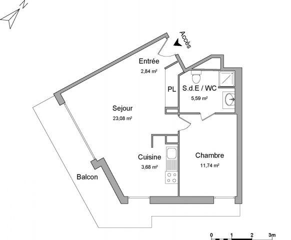 Appartement à louer sur Palaiseau