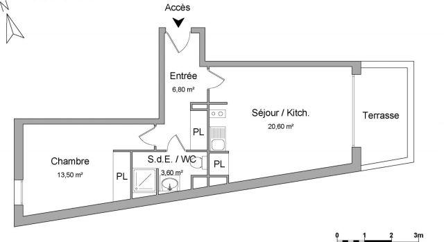 Location immobili re la baule 44500 foncia for Location garage la baule