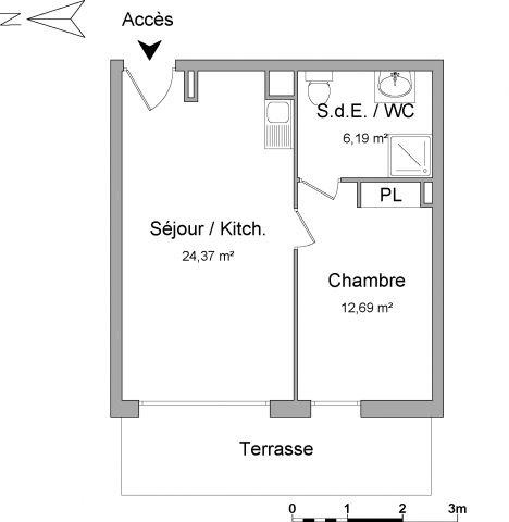 Appartement à louer sur Morieres Les Avignon