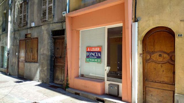 Local commercial à louer sur Sait Jean De Maurienne
