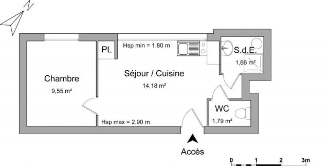 Location appartement meubl nancy 54 foncia for Location meuble nancy