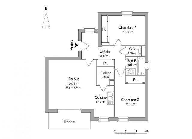 appartement à louer sur guidel