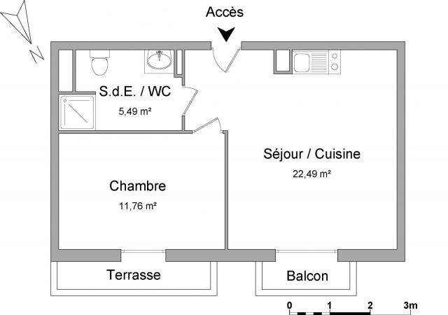 Appartement meublé à louer sur Montrouge
