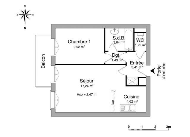 Appartement à louer sur Corbeil-essonnes
