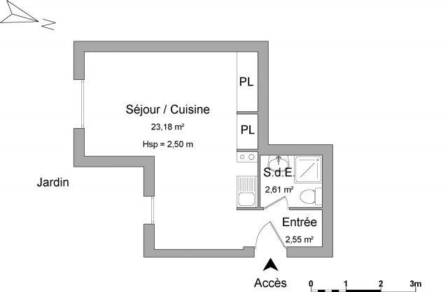 location appartement meubl la rochelle 17000 foncia page 6. Black Bedroom Furniture Sets. Home Design Ideas