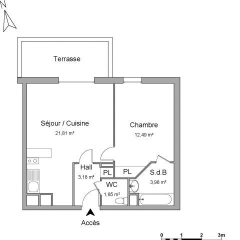 Appartement à louer sur Escalquens