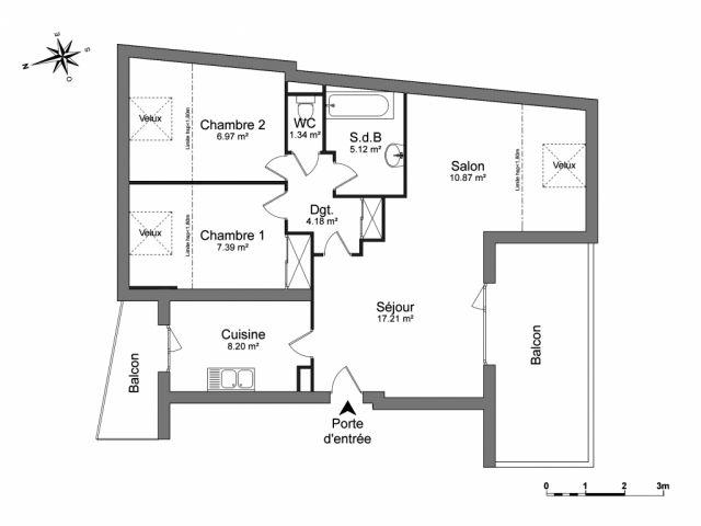 appartement à louer sur annecy