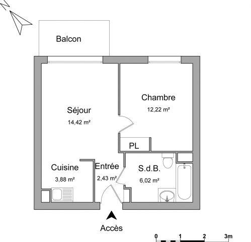 Appartement à louer sur Brie Comte Robert
