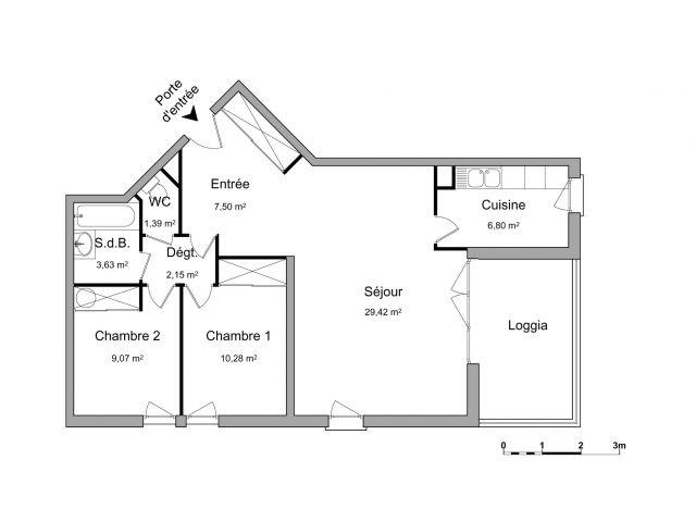 Appartement à louer sur Lattes