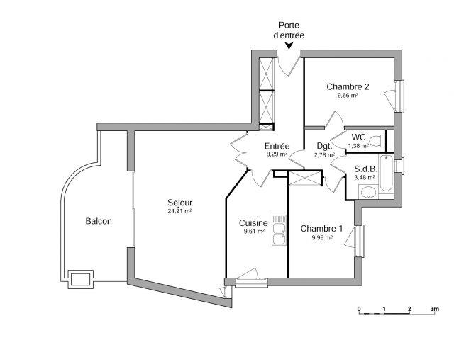 Appartement à louer sur Vizille
