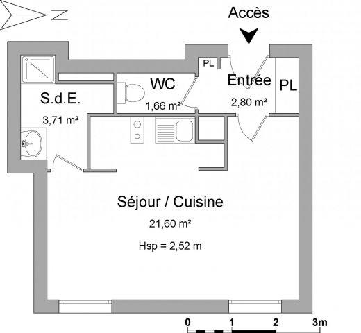 Appartement à louer sur Le Bourget