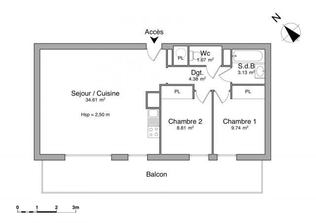 Appartement à louer sur Montigny En Gohelle