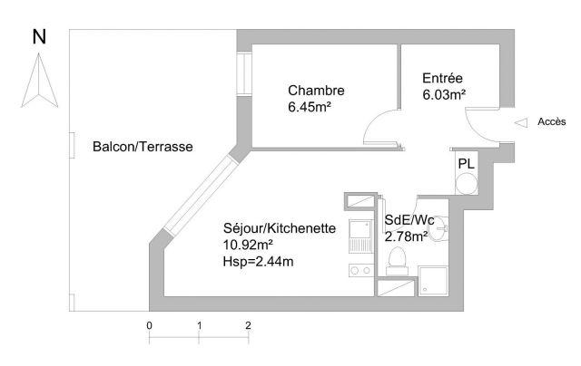 Appartement à louer sur Sausset Les Pins