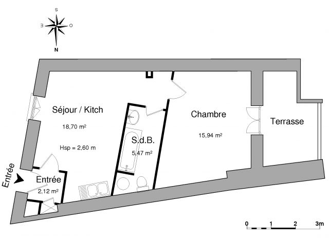 Appartement à louer sur Pierrelatte
