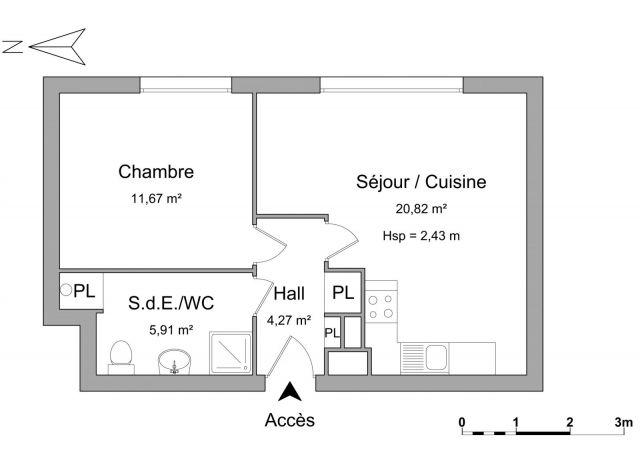 Appartement à louer sur Villeneuve D'ascq