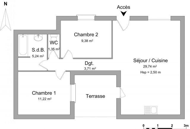 Maison à louer sur Coursan