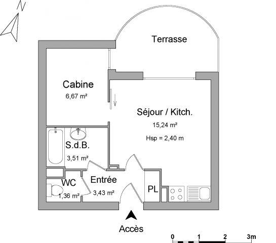 appartement à louer sur port frejus
