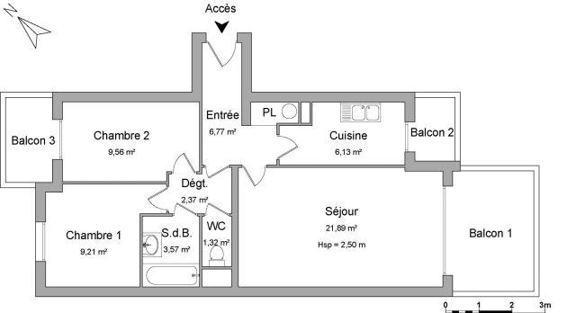 Appartement à louer sur Ivry Sur Seine