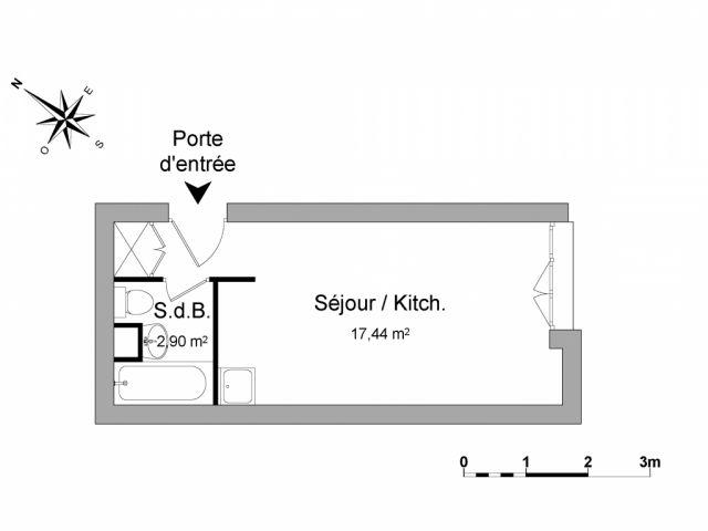 Appartement meublé à louer sur Annecy