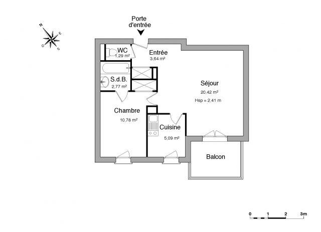 Appartement à louer sur Agen