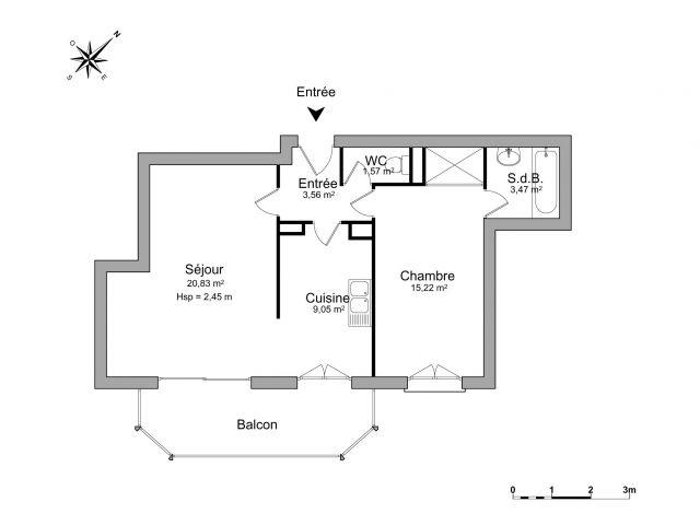 Appartement à louer sur Collonges Sous Saleve