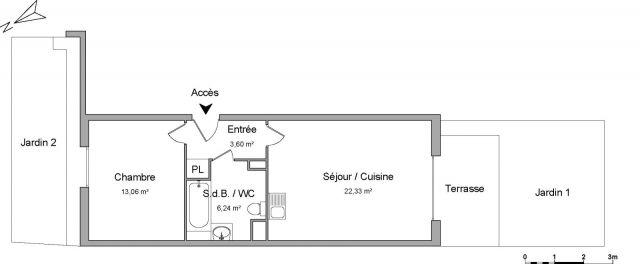 Appartement à louer sur Eragny