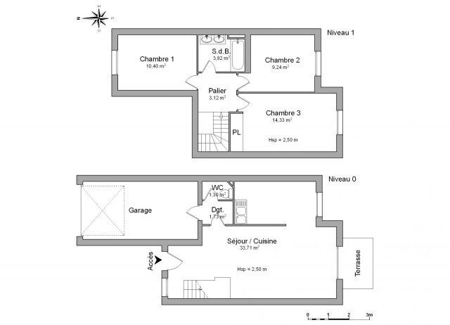Maison à louer sur Audenge