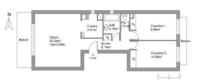 Appartement à louer sur La Baule