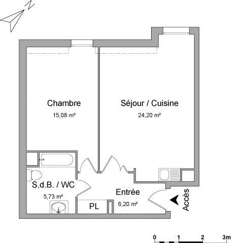Appartement à louer sur Beaumont Sur Oise