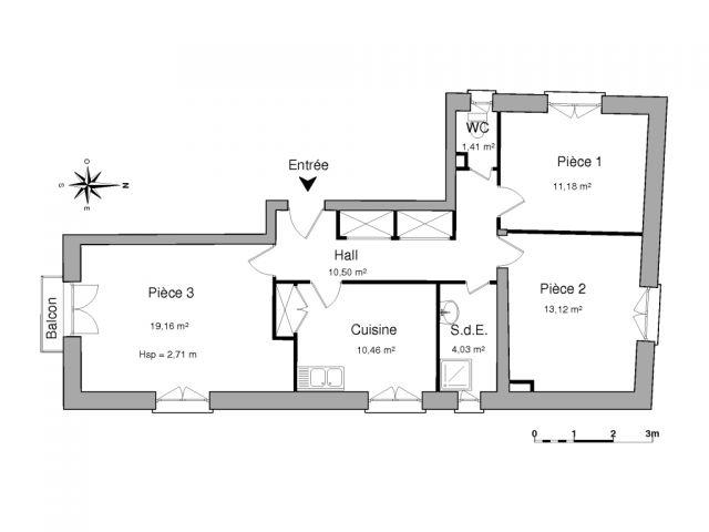 Appartement à louer sur Le Perthus
