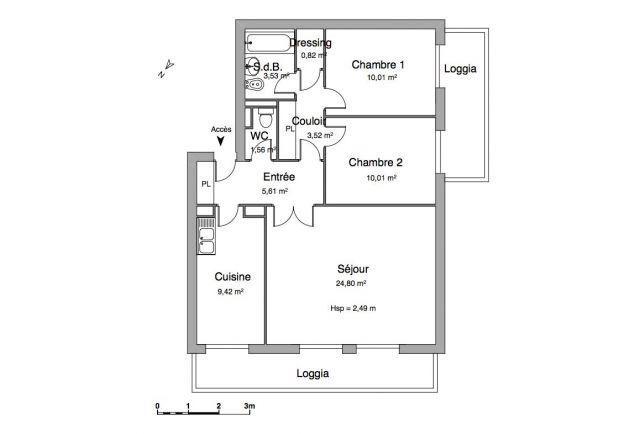 appartement à louer sur chatou