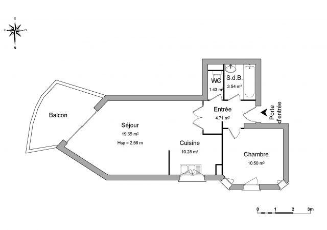 Appartement à louer sur Lons