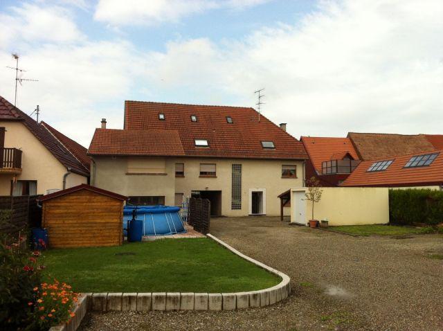 Appartement meublé à louer sur Geispolsheim