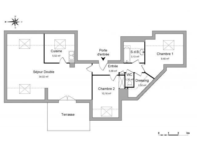 appartement à louer sur orgeres