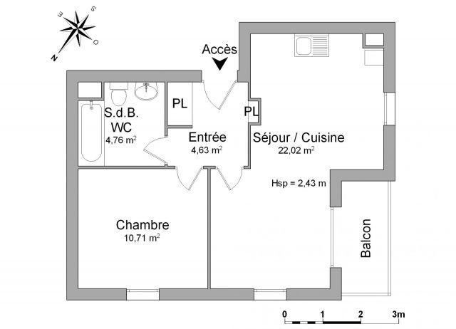 Appartement à louer sur Bohars