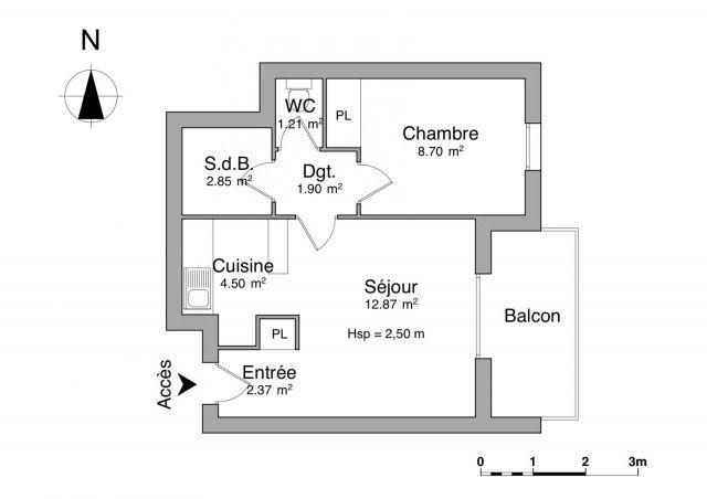 appartement à louer sur miramas