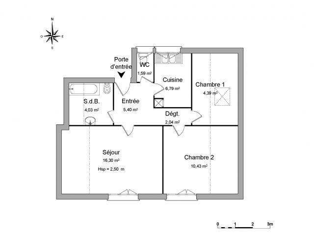 appartement à louer sur chatillon en michaille