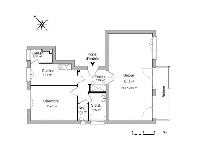 appartement à louer sur montgeron