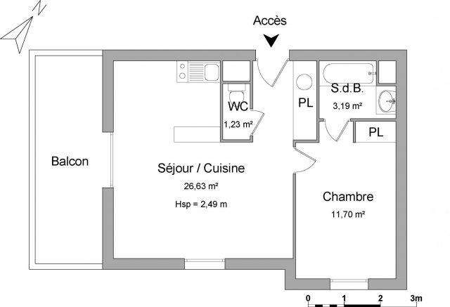 Appartement à louer sur Auch