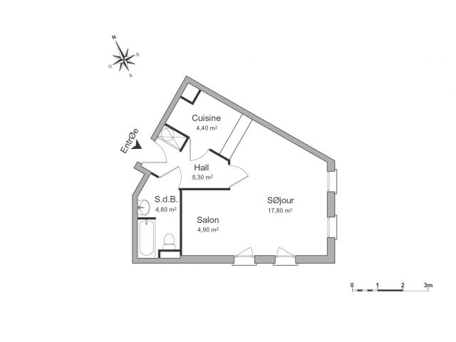 Appartement à louer sur Saint-maurice