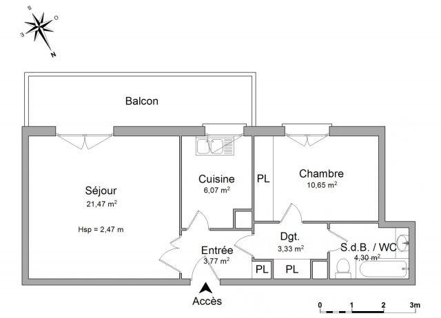 Appartement à louer sur Neuilly Plaisance