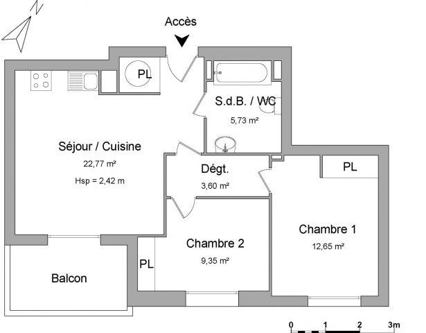 appartement à louer sur arvert