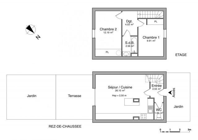 Maison à louer sur Narbonne Plage