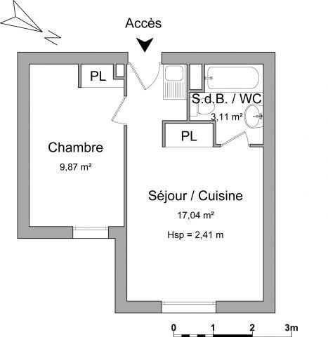 Appartement à louer sur Villers Les Nancy