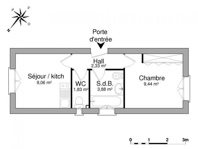 Appartement à louer sur Osny