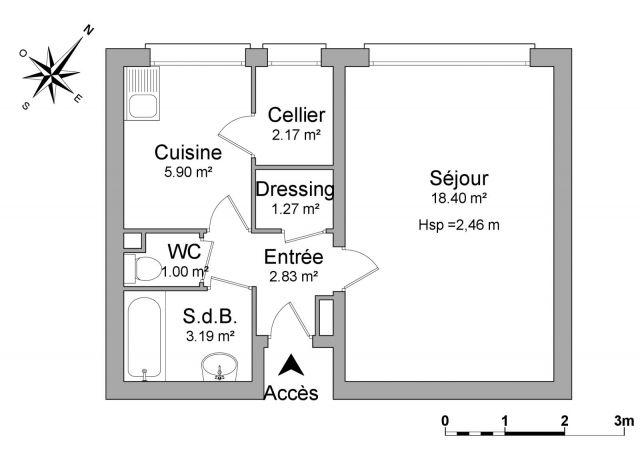 appartement à louer sur st gratien