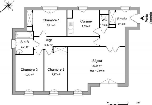 Appartement à louer sur Reze