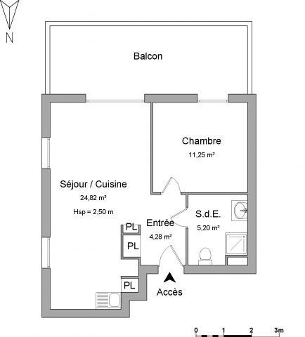 Appartement à louer sur Herouville Saint Clair