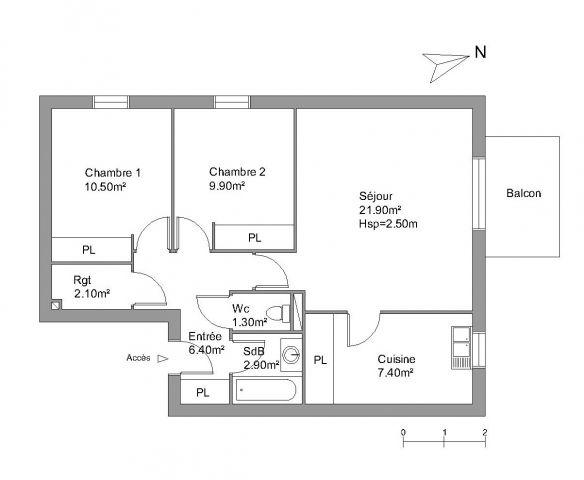 Appartement à louer sur Biganos