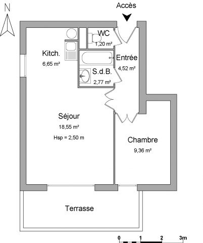 Appartement à louer sur Dax